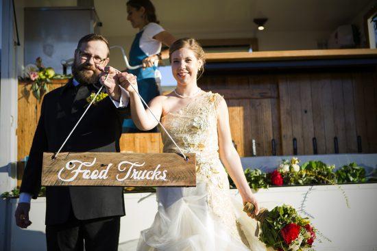 Australian Food Truck Wedding