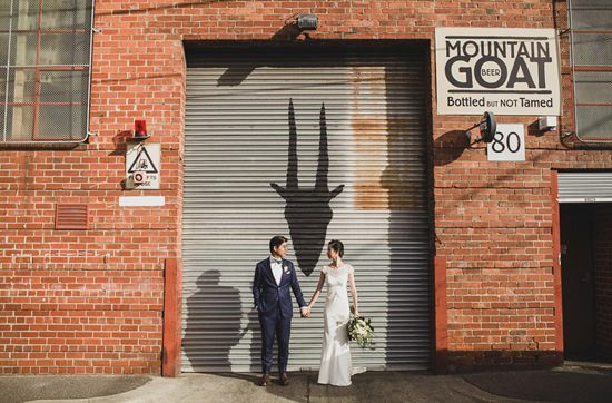 Chic Mountain Goat Brewery Wedding087