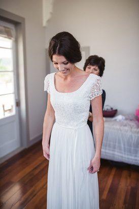 Corina Snow Gown