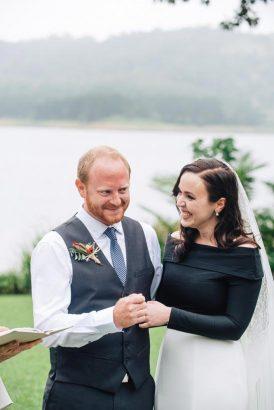 Intimate Modern Montville Wedding 030