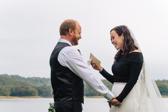 Intimate Modern Montville Wedding 035