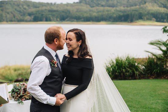 Intimate Modern Montville Wedding 045