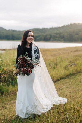 Intimate Modern Montville Wedding 064