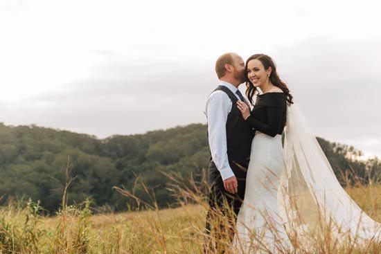 Intimate Modern Montville Wedding 072