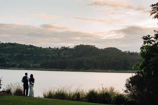 Intimate Modern Montville Wedding 079