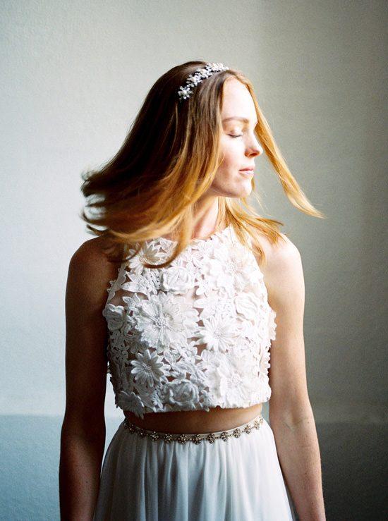Luminous Industrial Bridal Style133