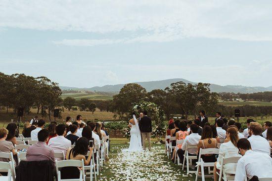 Modern Outdoor Hunter Valley Wedding043
