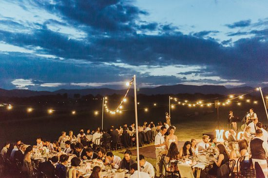 Modern Outdoor Hunter Valley Wedding080