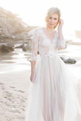 Pastel Beach Wedding Inspiration008