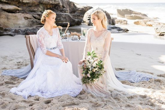 Pastel Beach Wedding Inspiration074