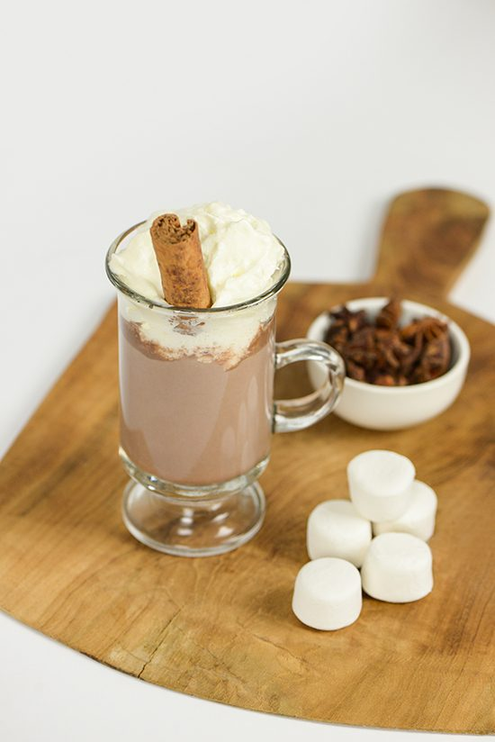 Cocktail Friday - Spiked Spice Hot Chocolate