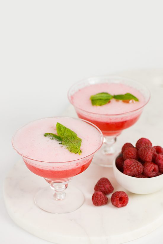 Summer Raspberry Spritz