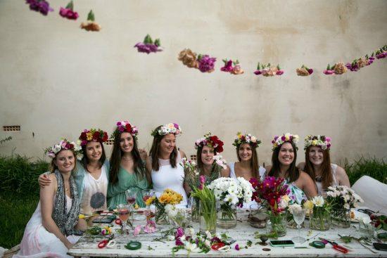Sydney flower crown workshops
