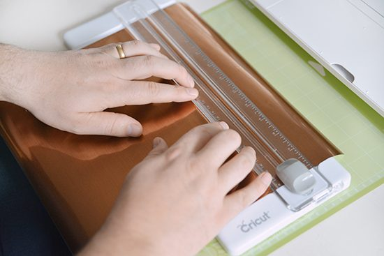 Using Cricut Adhesive Foil