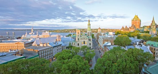 Quebec City honeymoon