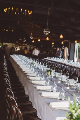 Chic Winery Wedding
