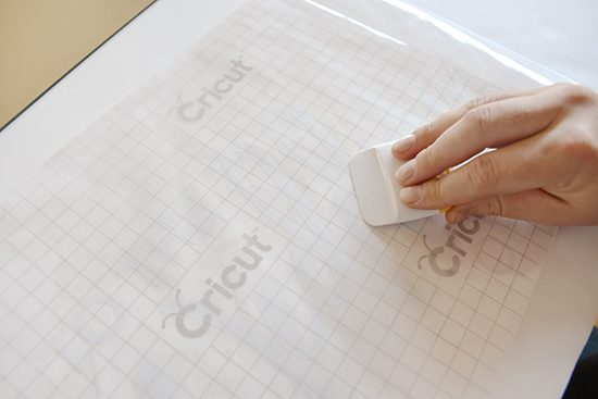 How to apply trasnfer tape