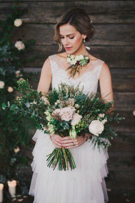Indoor Rustic Chic Wedding Ideas045