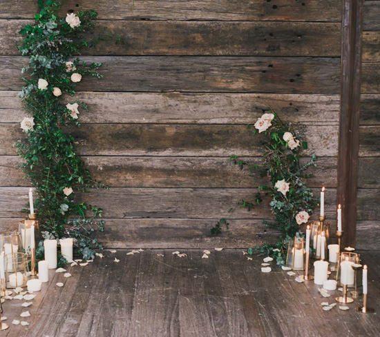 Indoor Rustic Chic Wedding Ideas057