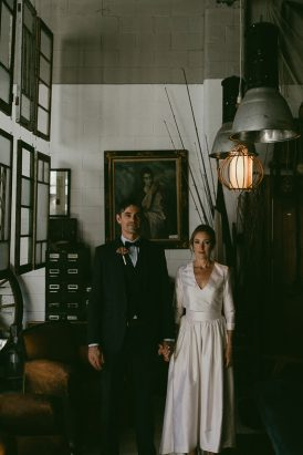 Intimate Vieille Branche Wedding - Polka Dot Bride