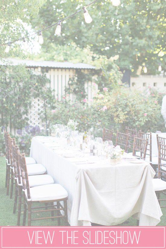 Outdoor Reception Ideas