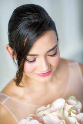 Rose Quartz Wedding Style - Polka Dot Bride