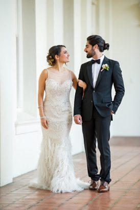 Rose Quartz Wedding Style - Polka Dot Bride