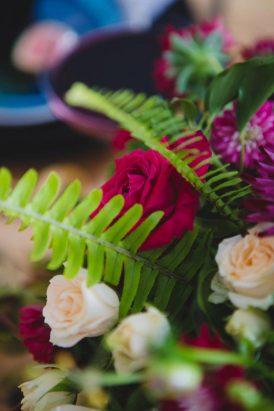 Black Botanicals Wedding Inspiration - Polka Dot Bride