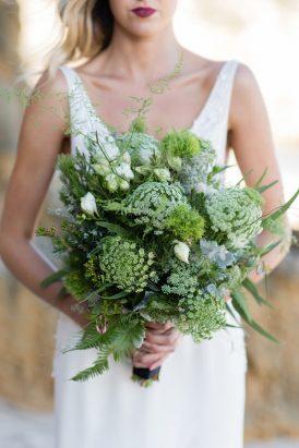 Black & White Ocean Bridal Ideas - Polka Dot Bride