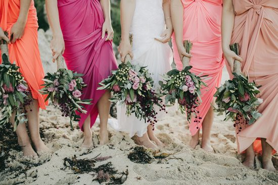 Bright Western Australian Beach Wedding - Polka Dot Bride