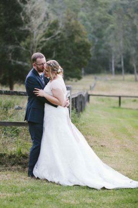 Classic Country Wedding   Polka Dot Bride