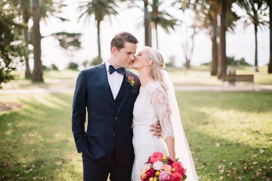 Colourful Melbourne Rooftop Wedding - Polka Dot Bride