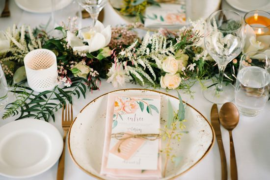 Gorgeous Spring Luncheon Inspiration - Polka Dot Bride