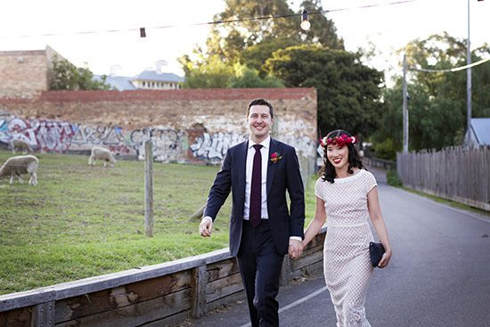 Modern Collingwood Childrens Farm Wedding | Polka Dot Bride