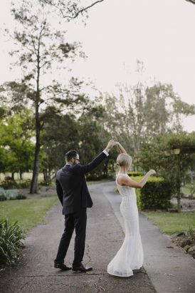 Modern Mindaribba House Wedding - Polka Dot Bride