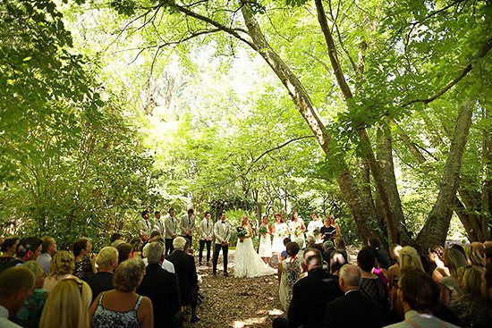 Relaxed Como Gardens Wedding - Polka Dot Bride
