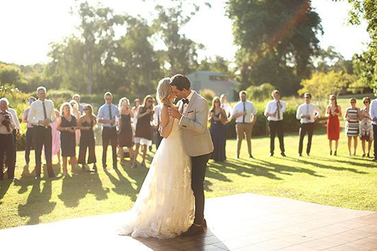Relaxed Como Gardens Wedding - Polka Dot Bride