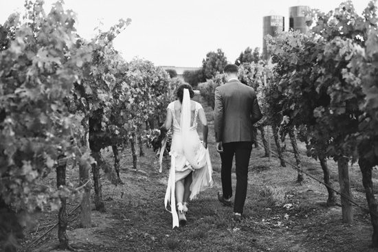 Summer Adelaide Hills Winery Wedding - Polka Dot Bride