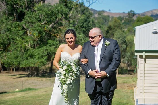 Sweet Flowerdale Estate Wedding - Polka Dot Bride