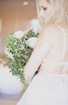 To My Love Romantic Boudoir Shoot - Polka Dot Bride