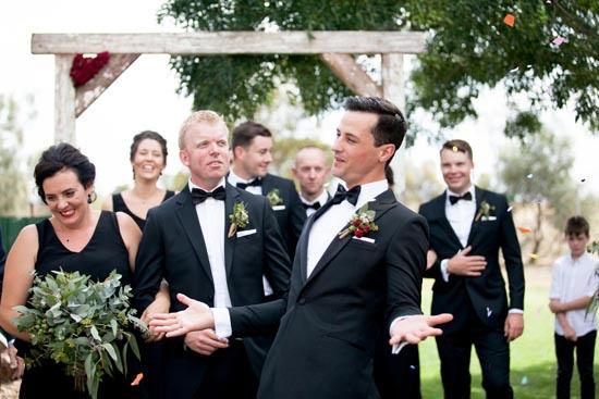 Black Tie Country Wedding | Photo by Nikki McCrone http://www.nikkimccrone.com.au/