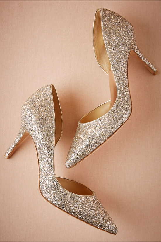gold-glitter-wedding-shoes