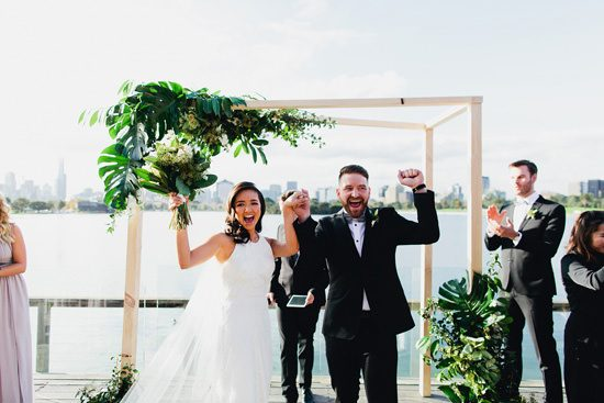 Modern Albert Park Wedding - Polka Dot Bride