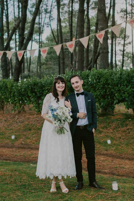 New Zealand Festival Wedding - Polka Dot Bride