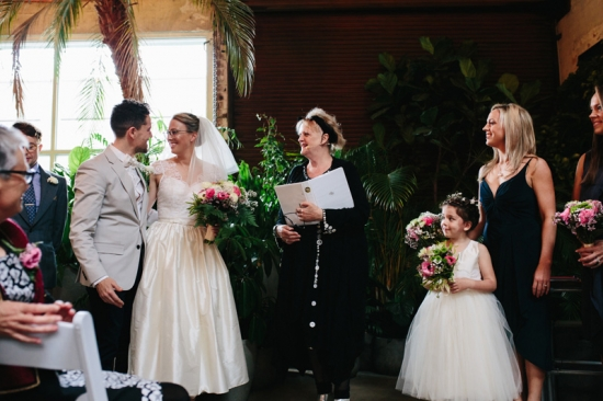 Fun Urban Greenhouse Wedding | photo by Dijana Risteska Photography dijanaristeskaphotography.com
