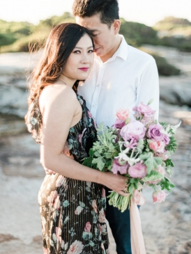 Dreamy Beach Engagement   Photo by We Are Origami http://weareorigami.com.au/