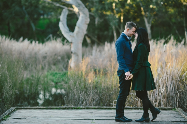 Jessica and Sean's Pipemakers Park Engagement Shoot