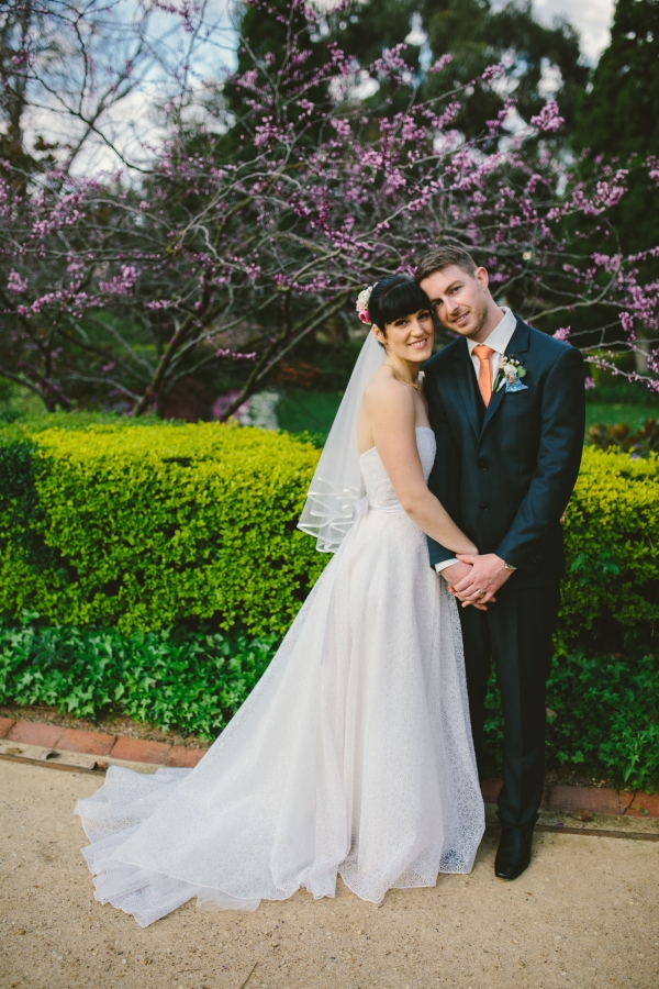 Jessica And Sean S Beautiful Melbourne Garden Wedding