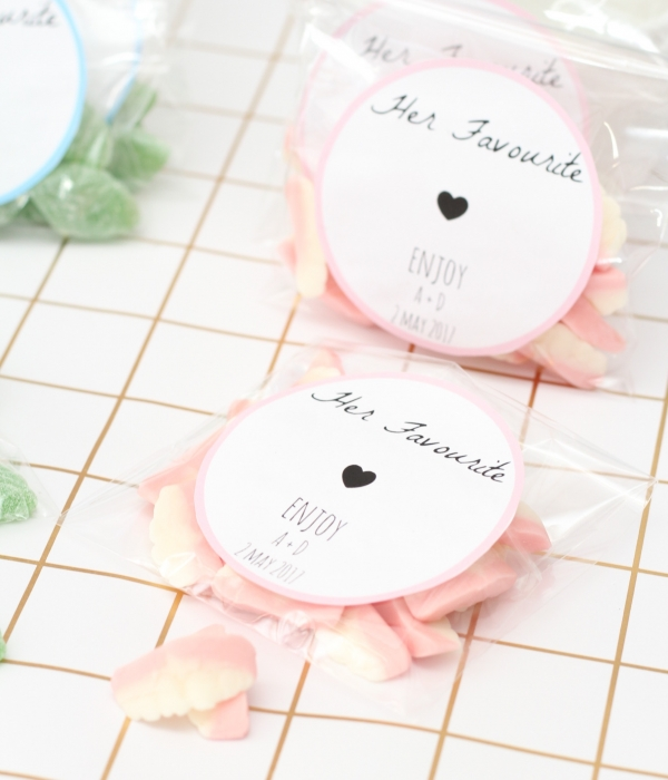 His & Her Favourite Sweet Favours Tutorial