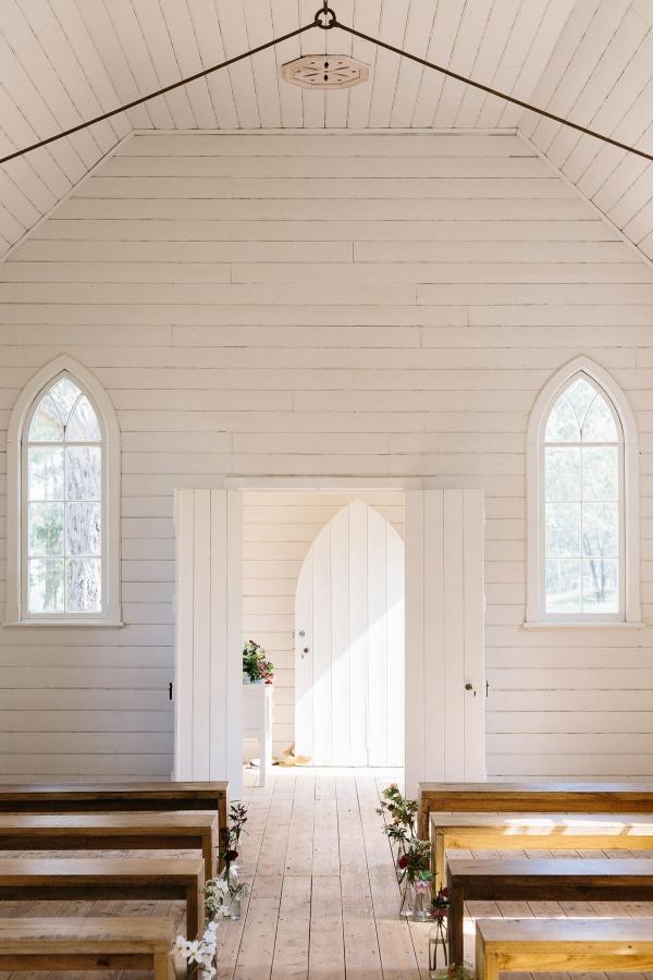Little White Wedding Chapels In Australia Polka Dot Bride